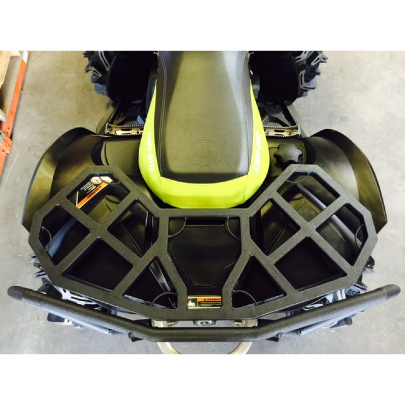 Can-am Renegade All Years All Models Black Rear Rack