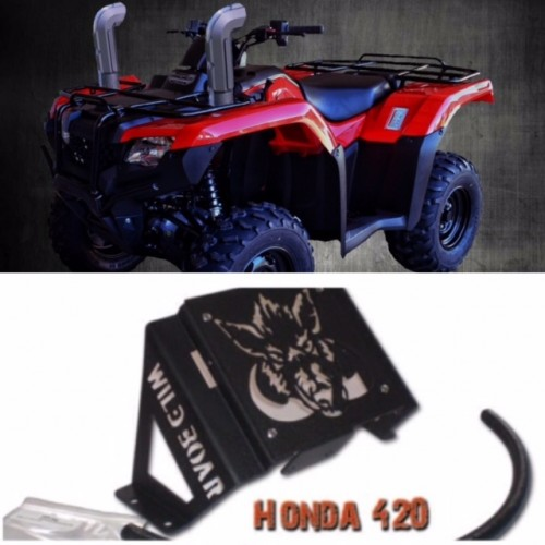 how to change tire size on honda 420 atv code