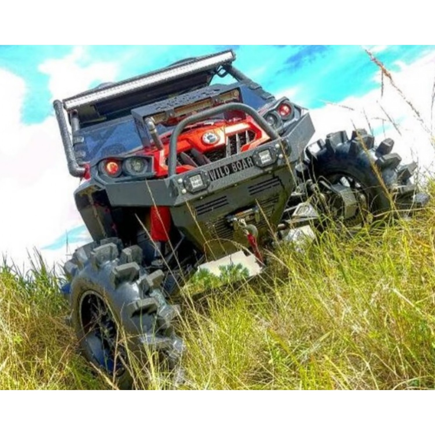Can-am Commander Front Winch Bumper With LED Lights