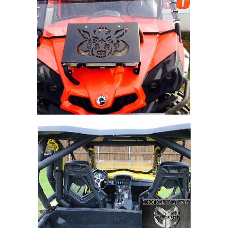 Can-Am Commander 800/1000 Radiator Relocation/Snorkel Kit Combo All Years