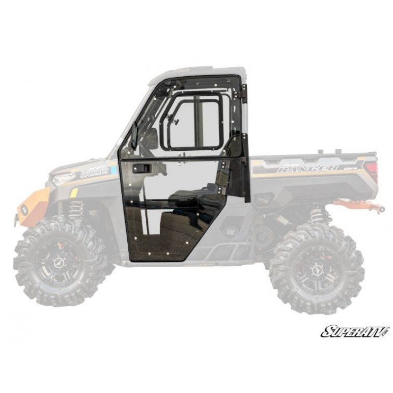 SuperATV Polaris Ranger XP 1000 Convertible Hard Cab Doors