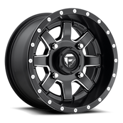 Fuel Off-Road Maverick D538 (Black & Milled) Wheel (16x7)