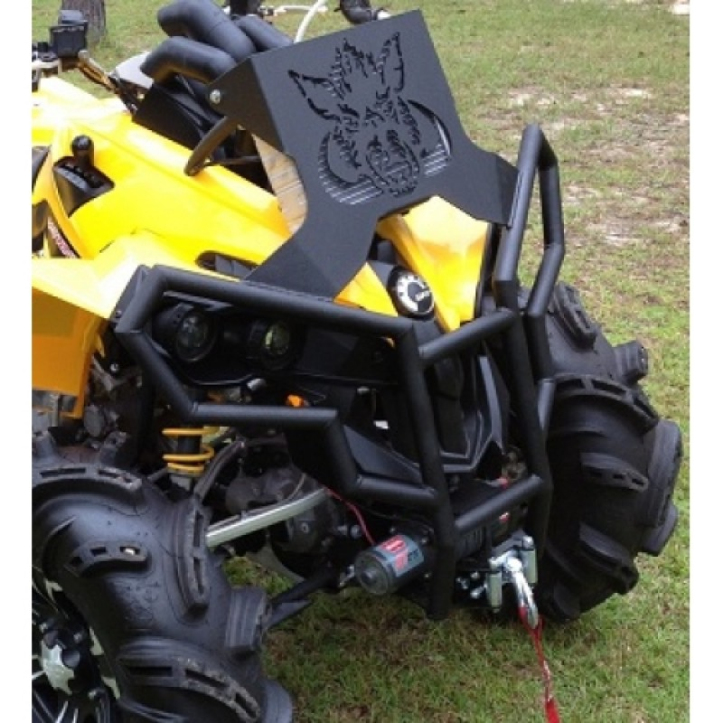Can-Am Renegade (Gen 1) Radiator Relocation Kit & Winch Bumper