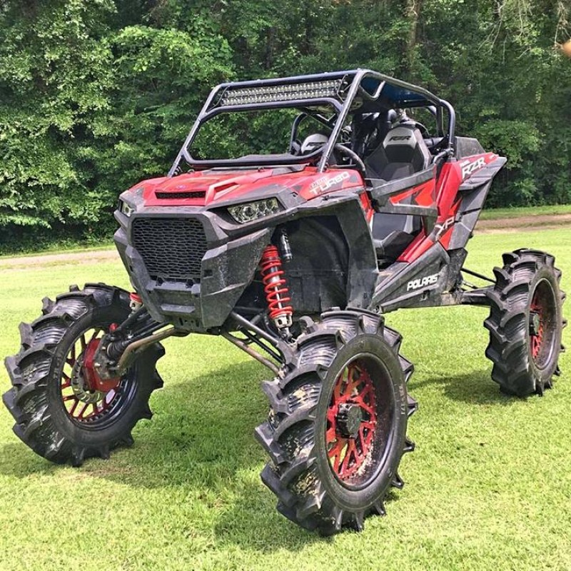 CATVOS Polaris RZR 1000 Portal Proof +2 Front Forward Arched A-Arms