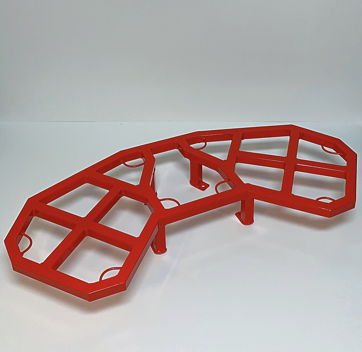 Can-Am Red Renegade Rear Rack