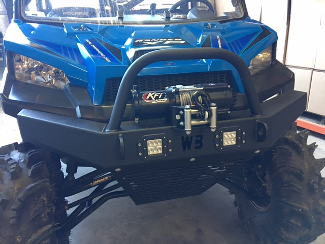 Polaris Ranger Full Size 900/1000 Front Bumper with lights