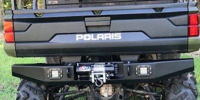 Polaris Ranger 900-1000 (2018-2019) Rear Winch Bumper