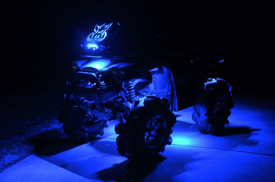 Wild Boar ATV Radiator Relocation Kits with LED Lights