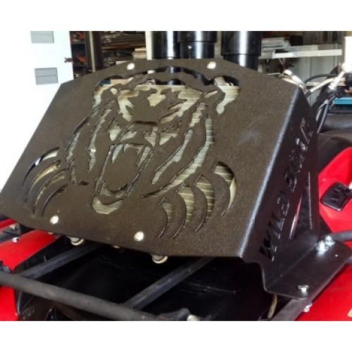 Yamaha grizzly 550700 14 up kodiak 700 radiator kit led light bs sciox Choice Image