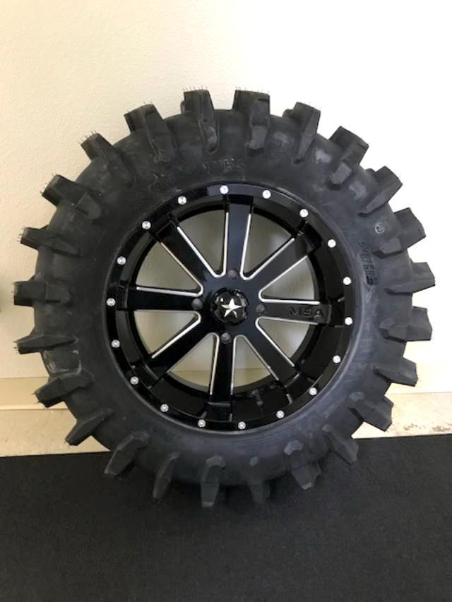 XM310 Extreme Mud Tire 33-9.5-18 mounted on M34 Flash ...
