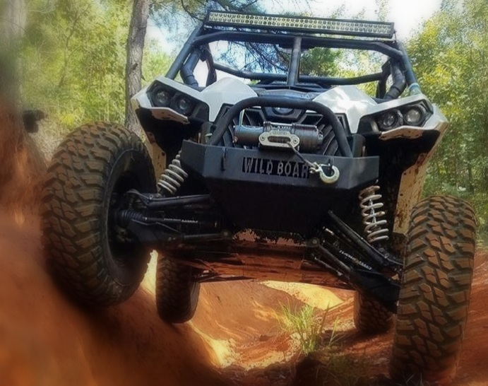 Wild Boar Can-Am Maverick Front Bumper