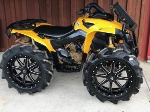 Canam Renegade high clearance floorboards