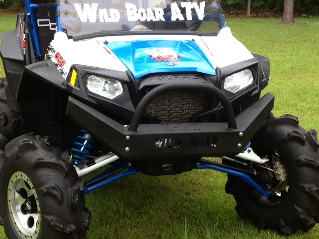 Wild Boar Front Bumper For The Polaris 900xp 2012-up $299 00