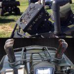 Suzuki King Quad Radiator Relocation and Snorkel Kit Combo